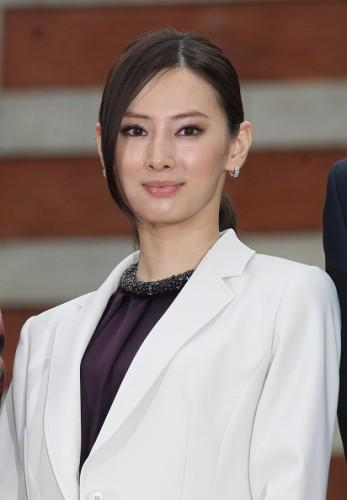 Keiko Kitagawa Attends Press Conference In Tokyo